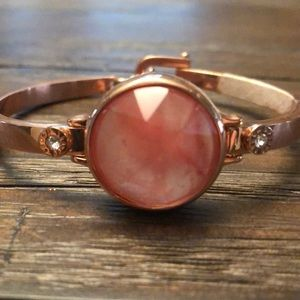 Henri Bendel rose gold bracelet